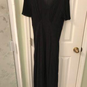 Carole little long black dress
